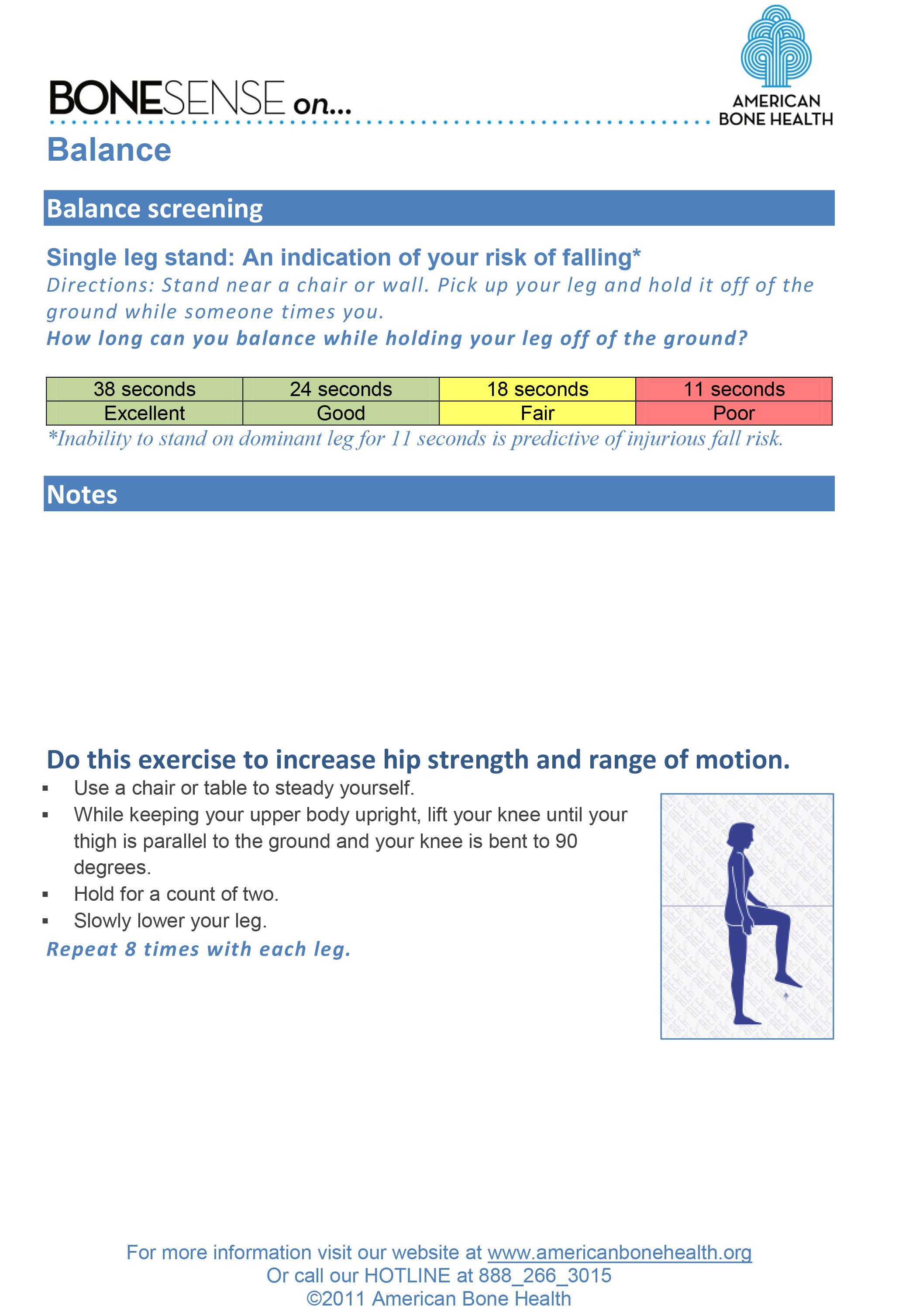 Balance & Strength Assessment